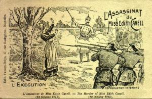 Edith Cavell Execution